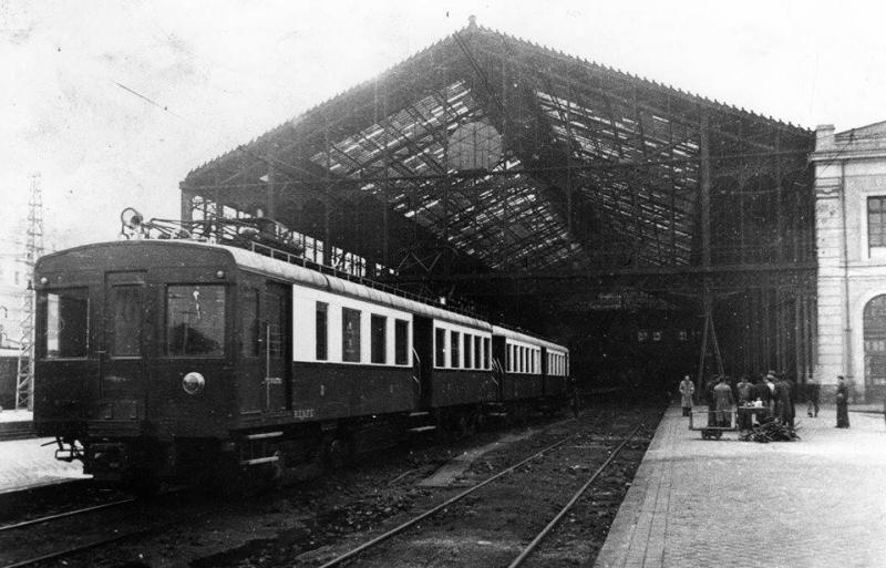 Estación del Norte. 1944. Estación de cercanías