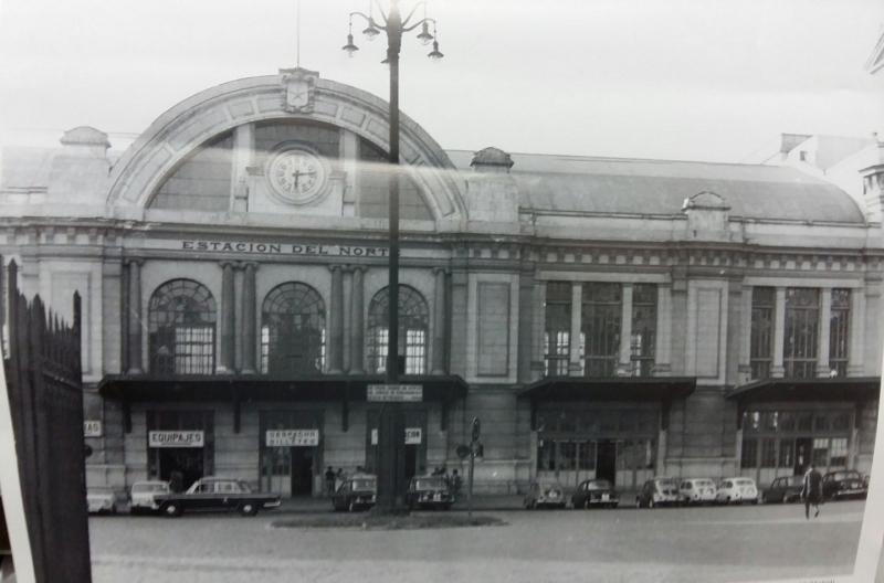 Estación del Norte. Años 70.
