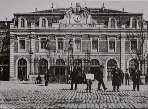 Inauguración de la Estación del Norte. 1882.