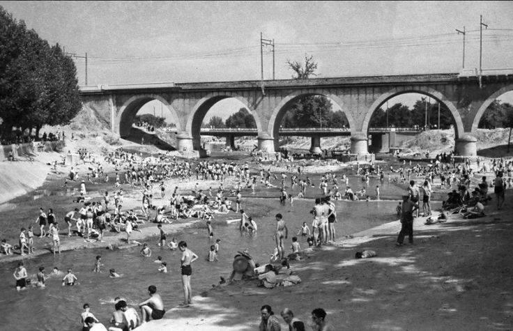 Puente de los franceses. Puente de los franceses. 1946. Manuel Urech.
