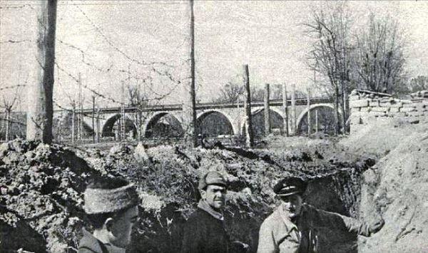 """Trincheras cerca de la  """"Huerta de la Señora María"""""""