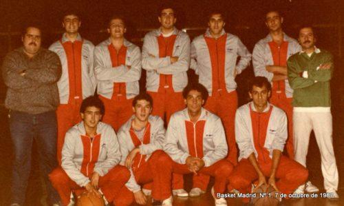 Antonio de la Serna. 1983-1987 (21-24 años)