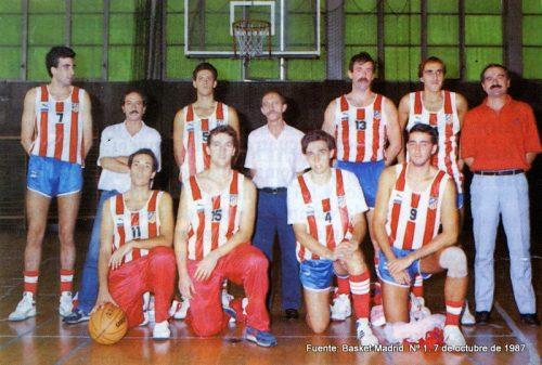 Alfredo Calleja-Antonio de la Serna 1987-88 (Senior 25 años).