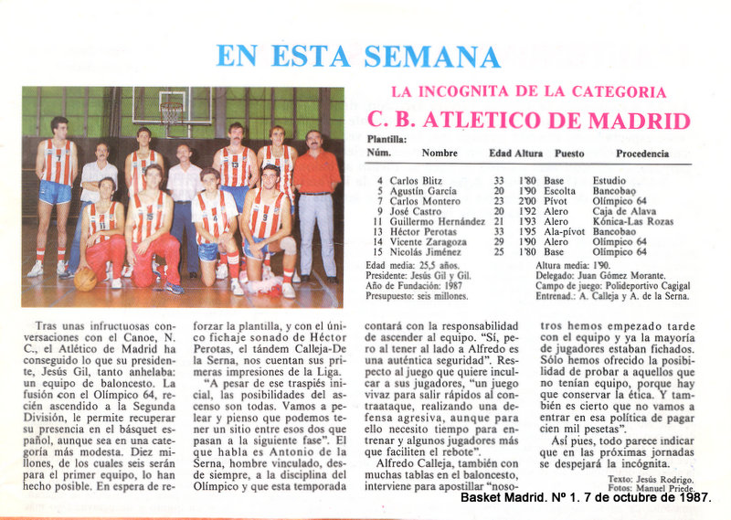 Atlético de Madrid de baloncesto