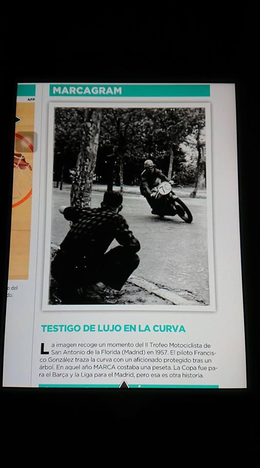 II Trofeo Motociclista de San Antonio de la Florida. 1957.