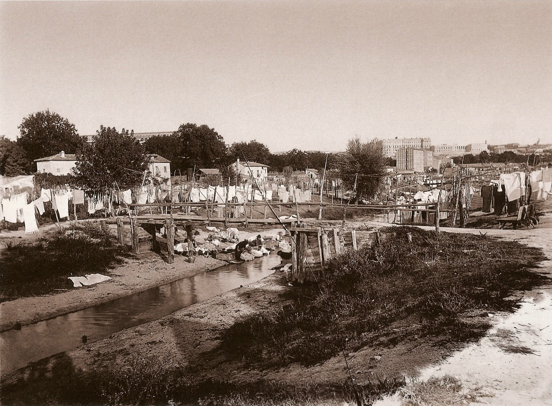 Lavaderos del Manzanares a finales del siglo XIX