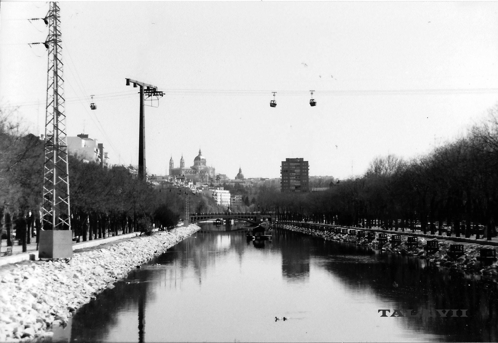 Río Manzanares en 1988-90