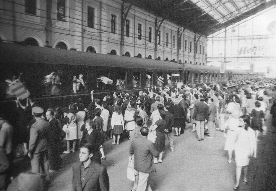 Estación del Norte. 1963.