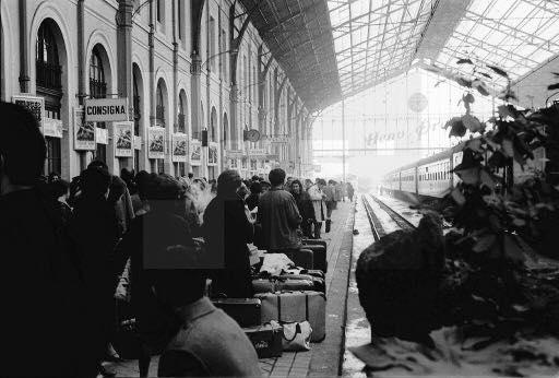 Estación del Norte. 1968. Publicada por Ana Isabel Martínez López