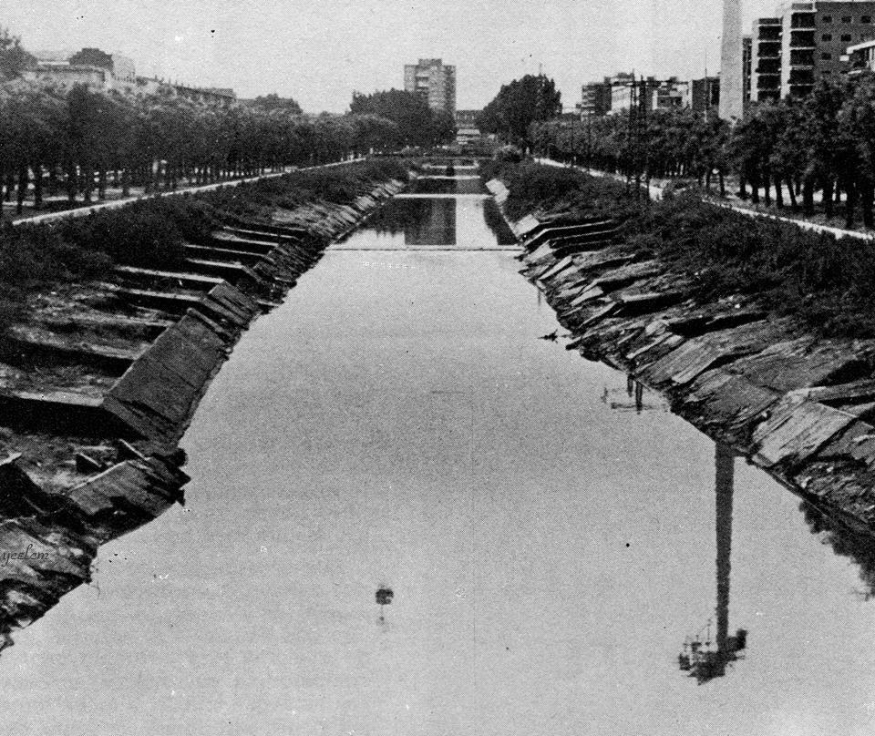 Rio Manzanares. 1984?. Publicada por Javier Aragón Rodriguez en Yo crecí en la Colonia del Manzanares (El gran barrio)